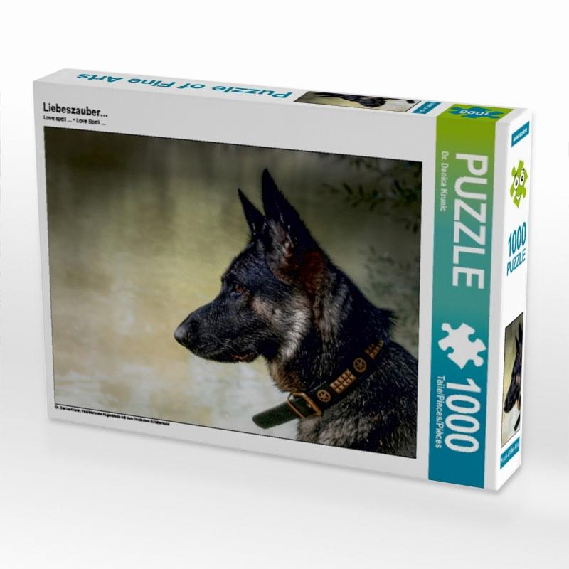 Geschenke für Hundehalter: Puzzle Liebeszauber