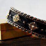 """Luxus Hundezubehör für den Luxury Dog: Hundehalsband """"Only for Royals"""" Burmeister Werke"""